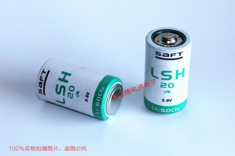 SAFT法国 LSH20 电池13Ah 3.6V D-size 2