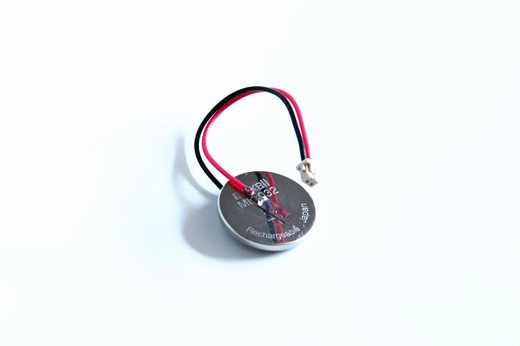 ML2032 万盛 Maxell 锂电池 3V充电纽扣电池 主板用 带插头 纽扣 锂电池   3V 65mAh 2