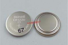 CR1220 万盛 Maxell 锂电池 3V纽扣电池 可加焊脚