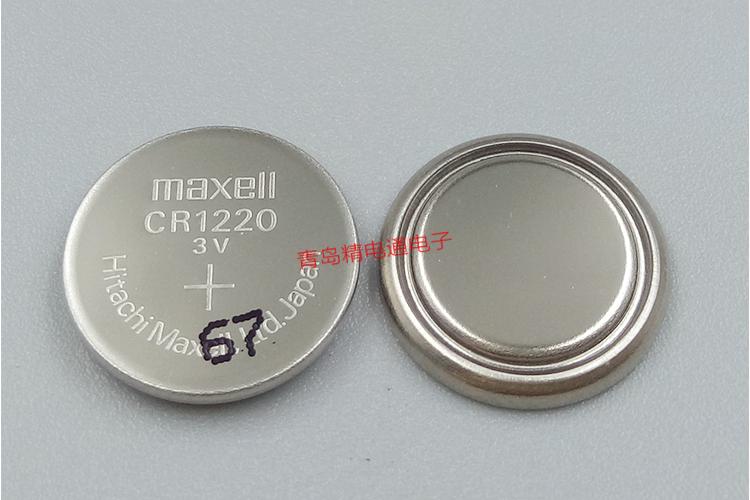 Panasonic CR1220  3V 35mAh Lithium Button Cell  5