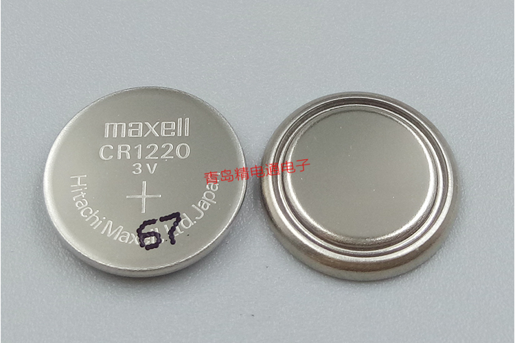 Panasonic CR1220  3V 35mAh Lithium Button Cell  6