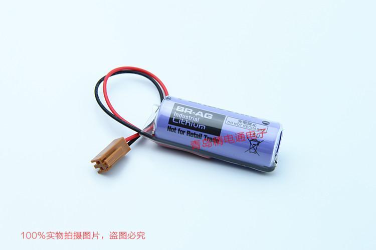 BR-AG BR17455 松下Panasonic 锂氟化石墨 电池 可加插头/焊脚 3