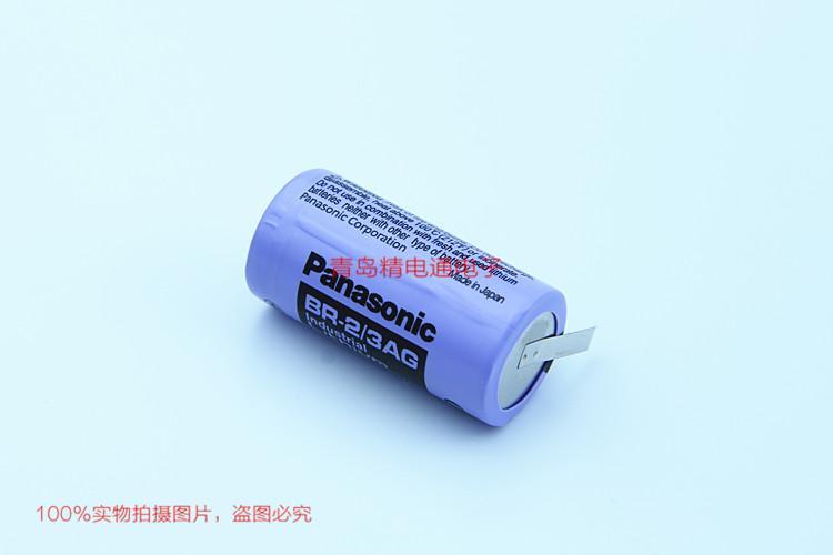BR-2/3AG BR17335 松下Panasonic 锂氟化石墨 电池 可加插头/焊脚电池 可加插头/焊脚 5