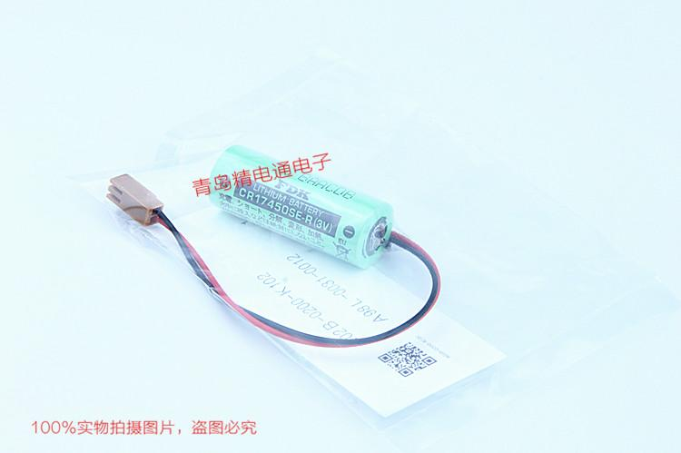CR17450SE-R 带插头 焊片 焊脚 FDK 富士 锂电池 按要求加插头/组合 10