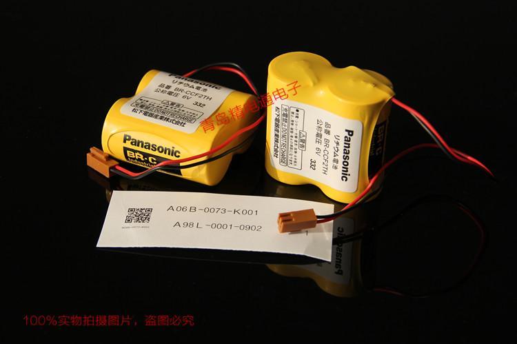 BR-CCF2TH A02B-0001-0902 A06B-0073-K001 FANUC 发那科CNC 锂电池 12