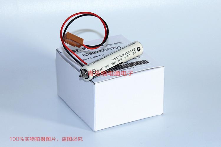 GE FANUC 锂电池 IC697ACC701 3V 1500mAh 4