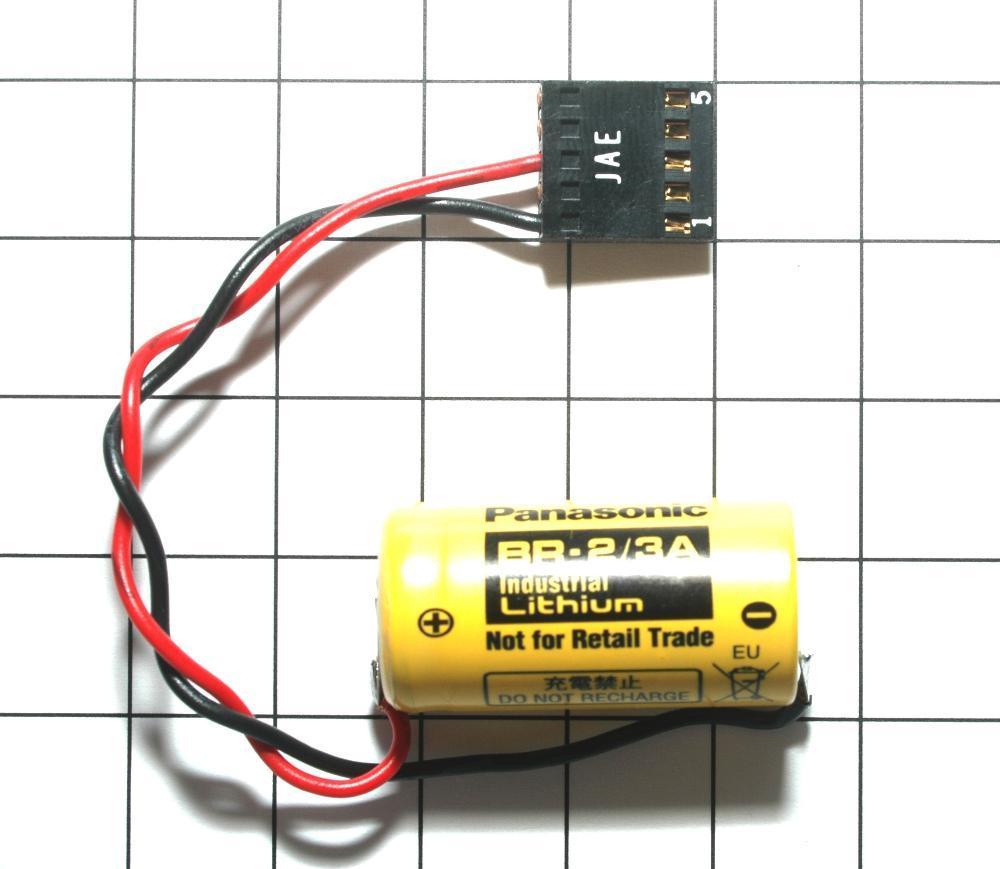 DF8404732-3 YASKAWA安川 PLC电池NC BR-2/3A-1 13