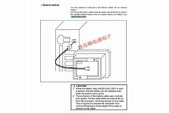 适用 A02B-0236-C281 FANUC 发那科CNC 兼容电池