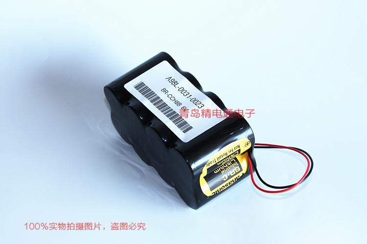 BR-CCH8B A98L-0031-0023 GE发那科CNC专用锂电池 8