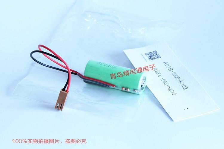 A02B-0200-K102 A98L-0031-0012 三洋CR17450SE-R 发那科锂电池 A02B-0177 6