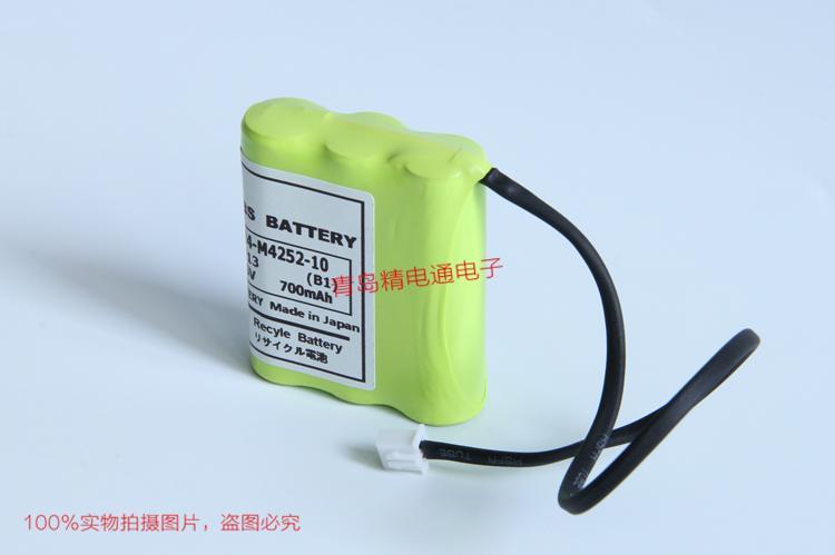 KR4-M4252-10 700mAh 雅马哈YAMAHA ERCX机器人控制器B1 电池 4