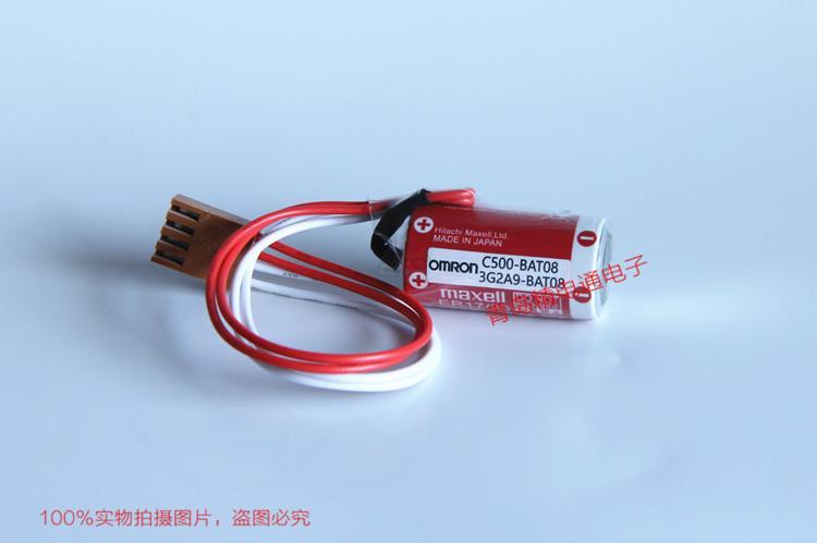 C500-BAT08 3G2A9-BAT08 OMRON欧姆龙 PLC 备用电池 ER17/33 17