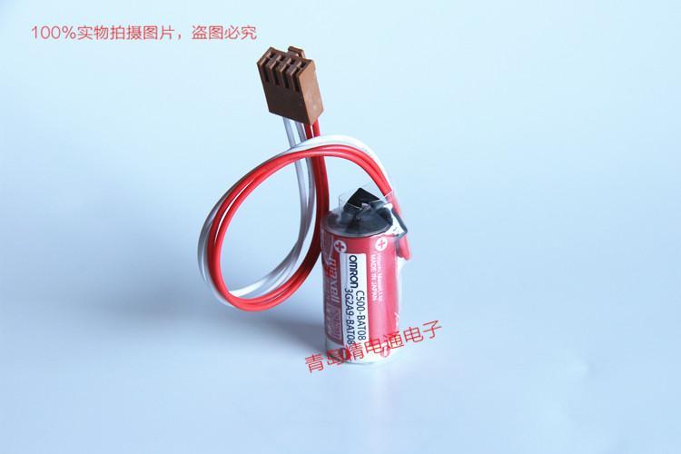 C500-BAT08 3G2A9-BAT08 OMRON欧姆龙 PLC 备用电池 ER17/33 19