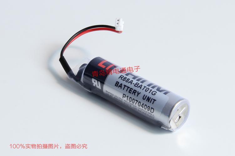 R88A-BAT01G P10070409D OMRON/欧姆龙   值编码器 备用电池 9