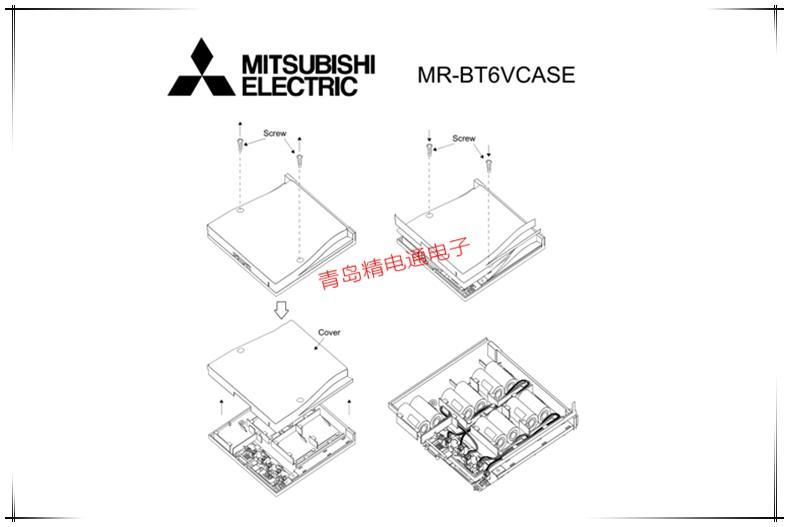 MR-BT6VCASE 2CR17335A Mitsubishi 三菱PLC 锂电池 4
