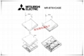 MR-BT6VCASE 2CR17335A Mitsubishi 三菱PLC 鋰電池 6