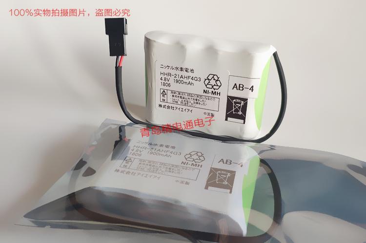 AB-4 HHR-21AHF4G3 艾卫艾 IAI 机械手 控制器 电池 带插头  A 2
