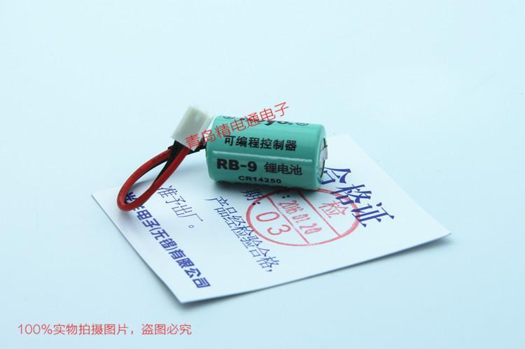 原装KOYO 光洋PLC锂电池 RB-9 3.0V SANYO CR14250SE 12