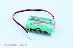 SANYO 三洋 CR17450SE-R 2组合 Mazak马扎克 D80UB016170用锂电池
