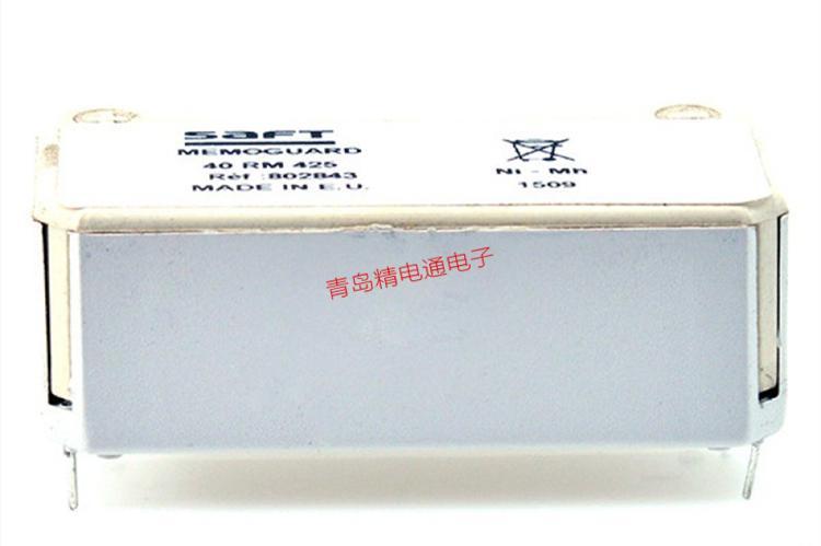 40RM425 802843 4.8V 250mAh SAFT 镍氢充电电池 1