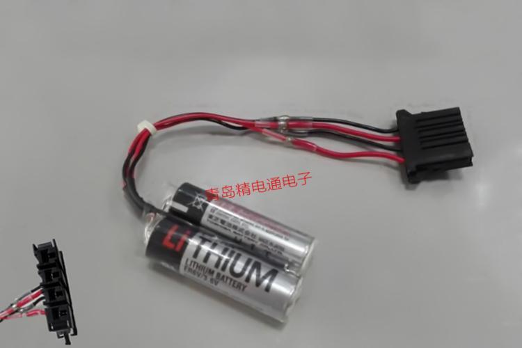ER6V/3.6V TOSHIBA东芝 ER6V-2PACK 机器人电池 5