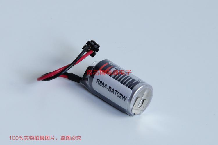 R88A-BAT02W PLC 用锂电池 3.6V 9