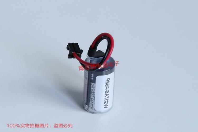 R88A-BAT02W PLC 用锂电池 3.6V 13