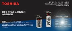 TOSHIBA东芝 中国授权代理 ER6VH AA ER14505 125℃ 高温电池