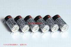ER4V/3.6V 1200mAh ER4V 2/3AA TOSHIBA东芝 中国  代理 可加各种连接器