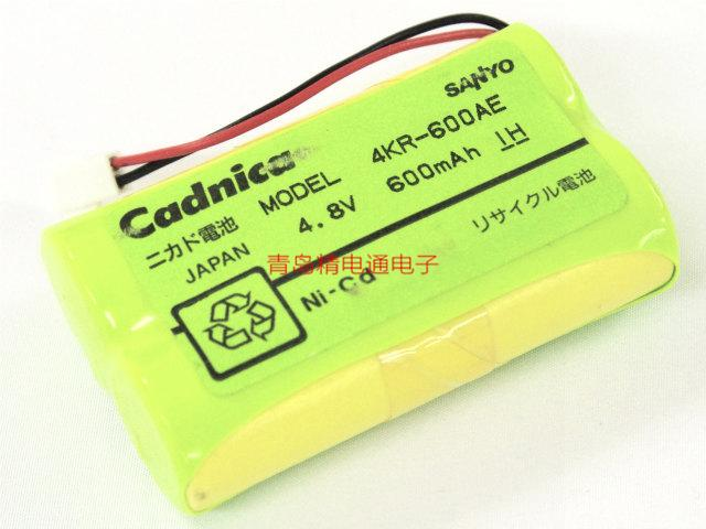 三洋Sanyo Cadnica 三洋 4KR-600AE 4.8V 600mAh 电池组 方形排列 8