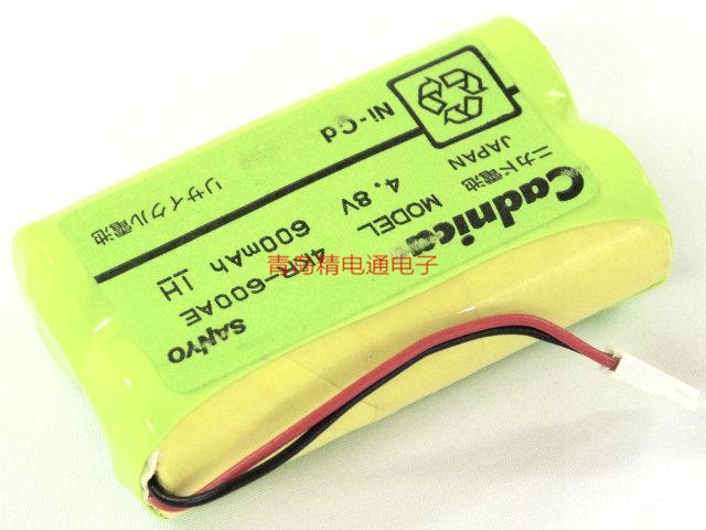 三洋Sanyo Cadnica 三洋 4KR-600AE 4.8V 600mAh 电池组 方形排列 12