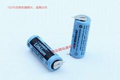 SANYO三洋 CR17450E-R 帶插頭 焊片/腳 鋰電池 按要求加插頭/組合