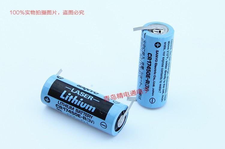 SANYO三洋 CR17450E-R 带插头 焊片/脚 锂电池 按要求加插头/组合 10