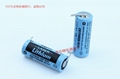 Sanyo lithium batteries CR17450E-R -Jae connector 3V,2200mAh