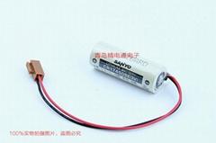 SANYO三洋 CR17450SE 帶插頭 焊片/腳 鋰電池