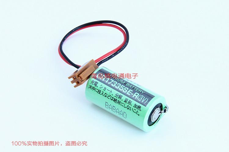 SANYO三洋 CR17335SE-R 带插头 焊片/脚 锂电池 按要求加插头/组合 1