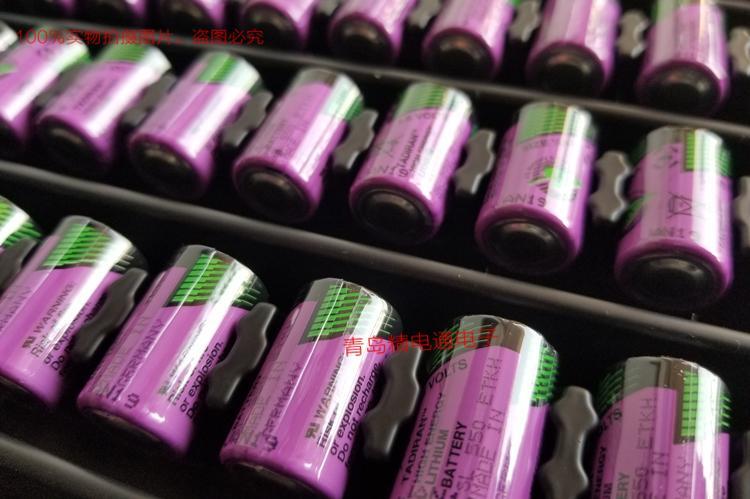 SL-550 1/2AA 原厂塔迪兰 TADIRAN 130度高温 锂电池 按要求 加工 插头 焊脚 SL550 4
