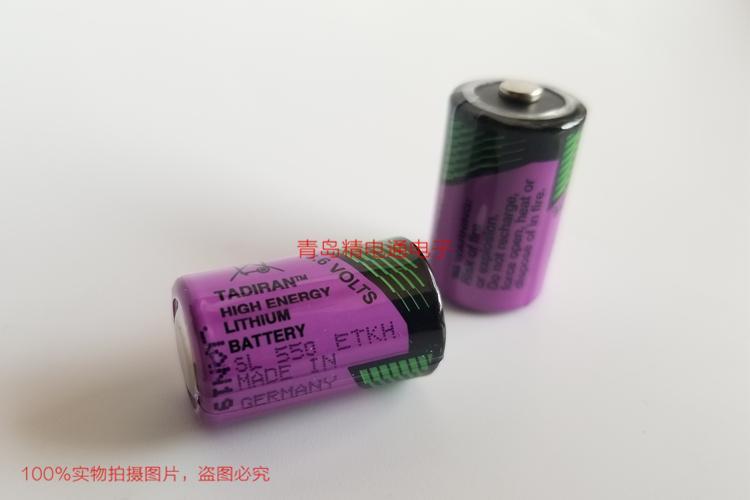 SL-550 1/2AA 原厂塔迪兰 TADIRAN 130度高温 锂电池 按要求 加工 插头 焊脚 SL550 7
