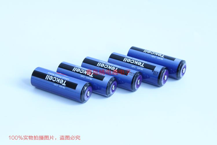 SB-A01 Tekcell ER17505 ER17500 A 3.6V 3.65Ah 仪表PLC 锂电池 6