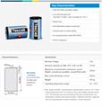 SB-D02 Tekcell ER34615 D 3.6V 19Ah 仪表PLC 锂电池 2