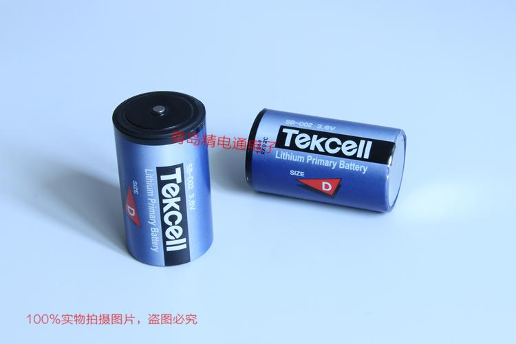 SB-D02 Tekcell ER34615 D 3.6V 19Ah 仪表PLC 锂电池 12