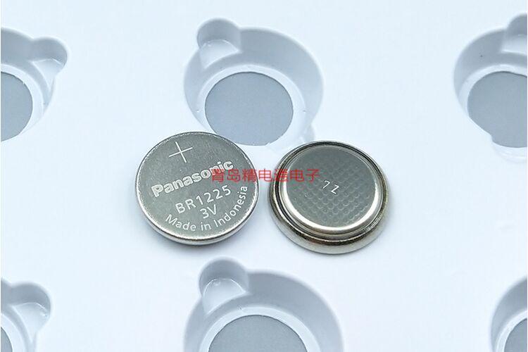 BR1225 BR-1225 HCN H1A 1HC VCN 焊脚 松下Panasonic 纽扣电池 10
