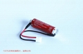 MAXELL ER6C + HRS 2.5 Connector 3.6V  AA 1800mAh Lithium Battery