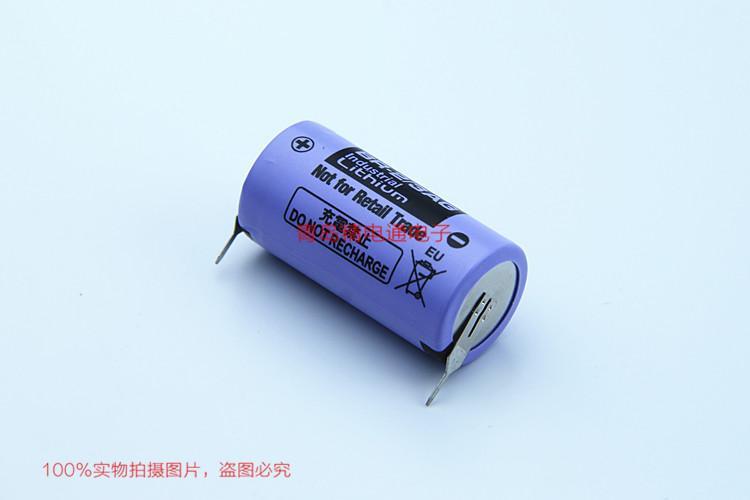 BR-2/3AG BR17335 松下Panasonic 锂氟化石墨 电池 可加插头/焊脚电池 可加插头/焊脚 12