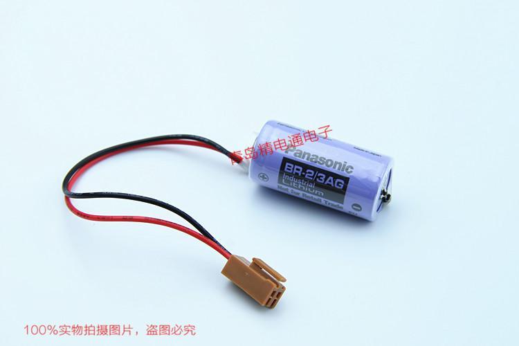 BR-2/3AG BR17335 松下Panasonic 锂氟化石墨 电池 可加插头/焊脚电池 可加插头/焊脚 13