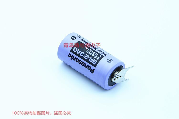 BR-2/3AG BR17335 松下Panasonic 锂氟化石墨 电池 可加插头/焊脚电池 可加插头/焊脚 16