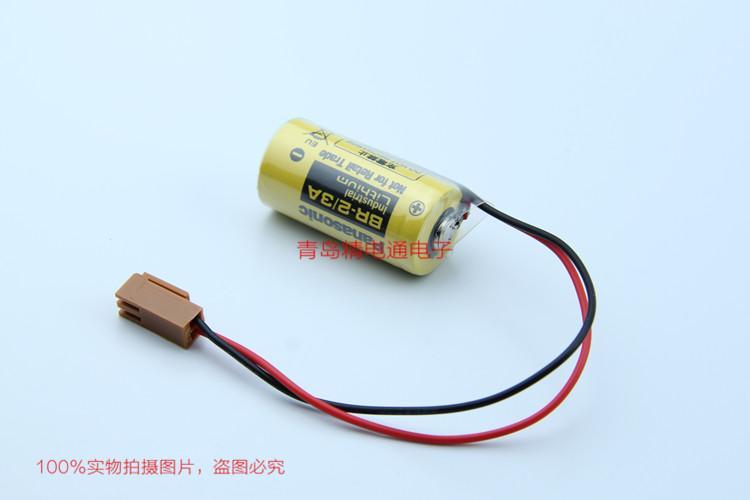 BR-2/3A BR17335 松下Panasonic 锂氟化石墨 电池 可加插头/焊脚 1
