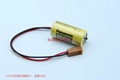 Panasonic battery BR-2/3A   3V 1200mAh -3PIN Lithium fluorine fossil ink battery
