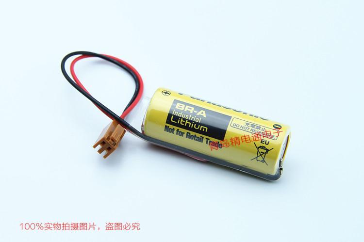 BR-A BR17455 松下Panasonic 锂氟化石墨 电池 可加插头/焊脚 6