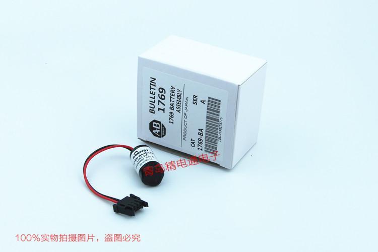 美国AB 1769-BA 3V  PLC锂电池 原包装 10